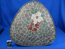 "50´s MID CENTURY DESIGN mosaïque table appoint/table rénale table ""Flowers"""