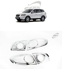 SAFE Chrome Rear Lamp Molding 4Pcs For Hyundai Santa Fe CM 2006 2010
