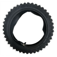 "2.50-10"" Inch Front Knobby Tyre Tire + Tube PIT PRO Trail Dirt PW50 Bike"