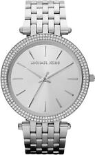 Michael Kors Ladies Parker Silver Tone Stainless Steel Designer Watch MK3190