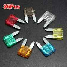 35 Piece MIXED Mini Blade Fuse AUTO Car 5 7.5 10 15 20 25 30 AMP HS
