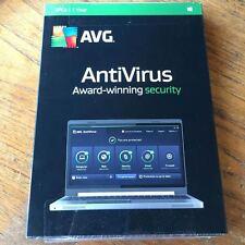 AVG 2015 AntiVirus 3 PCs/ 1 Year Free Update To 2016 BRAND NEW SEALED