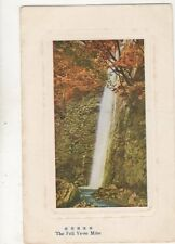 Japan The Fall Yoro Mino Vintage Postcard 324b