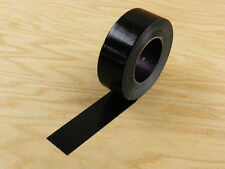 "EXTRA STRONG 2"" Black Duct Tape Waterproof UV Tear Resistant 110 yd 330' Roll"