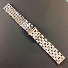 New Stainless Steel 'IWC Style' Bracelet Strap, 20mm, Fits IWC Pilot Watch