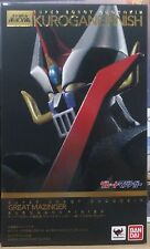 Bandai Super Robot Chogokin Great Mazinger Kurogane Finish Edition in stock!