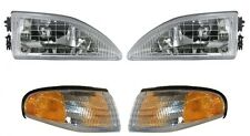 1994 - 1998 FORD MUSTANG COBRA HEAD LIGHT LAMP AND CORNER LAMP LIGHT COMBO