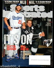 2014 Sports Illustrated LA Dodgers Clayton Kershaw Subscription Issue NR/Mnt