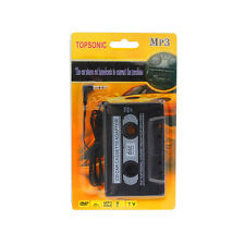 TOPSONIC Car Audio Tape Cassette Adapter Deck 3.5mm for IPhone MP3 Smartphones