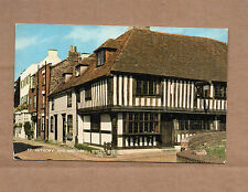 Salmon Card 1969 posted Rye Sussex St Anthony and Watchbell br1