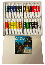 Oil Colour Set 24 x18ml  Artist Quality Student Paints Oil Paints Oil Paint Set