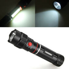 New COB LED Magnetic END Black Work Light Inspection Flashlight 250LM Lamp Torch