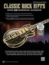 Classic Rock Riffs Authentic Guitar Tab Edition Book, Hal Leonard Corp., Excelle