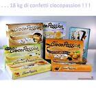 18 KG CONFETTI CIOCOPASSION CRISPO CIOCCOLATO CONFETTATE MATRIMONIO BATTESIMO