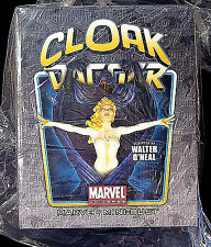 Bowen Designs Cloak and Dagger Bust Statue Set Marvel Comics New 2009