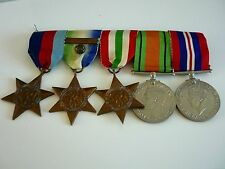 WW2 Group of 5 Medals & F&G Bar