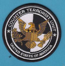 COUNTER TERRORIST UNIT SHOULDER  PATCH