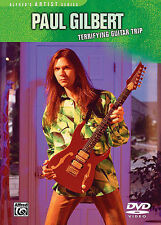 Paul Gilbert Terrifying Guitar Trip Artist Series DVD NEW!