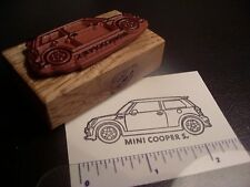New Mini Cooper S Car Rubber Stamp - Coupe or Convertible!