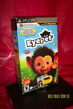 EyePet: Your Virtual Pet  (PlayStation Portable, 2010) BRAND NEW FACTORY SEALED