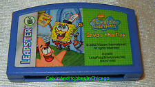SpongeBob Saves The Day LeapFrog Leapster Learning Cartridge + 50 More Titles
