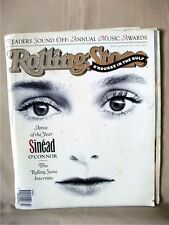 Rolling Stone Magazine 599, March 7, 1991; SINEAD O'CONNOR Interview