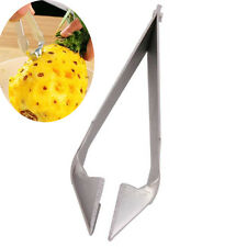 Chic Cutter Peeler Tool Pineapple Seed Clip Stainless Steel Kitchen Gadgets New