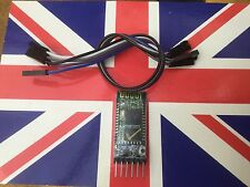 HC05 HC-05 Bluetooth Serial Module + Cables Board + Breakout Board JY-MCU UK