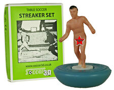 NEW TABLE SOCCER MALE STREAKER SET. WITH RULES TO BE PLAYED  IN A SUBBUTEO GAME.