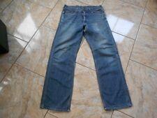 H7036 Carhatt staff Pant jeans w29 l32 medio azul muy bien