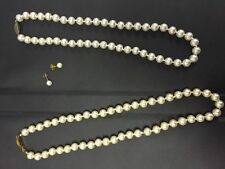 Costume necklace and earrings