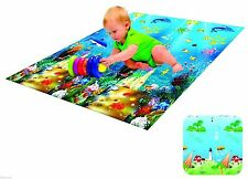 BABY Kid bambino Crawl SCHIUMA SOFT Play Game MAT Picnic TAPPETO 150 x 180 cm regalo