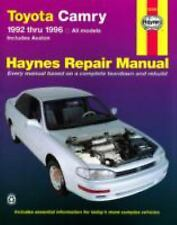 Toyota Camry 1992 1996 by Haynes Manuals Book English (Paperback)