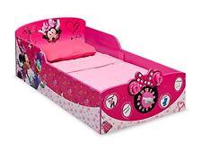 Delta Children TODDLER BED, Interactive Wood KIDS BED, Disney Minnie Mouse