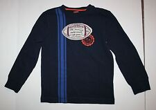 New Gymboree Football Applique Stripe Long Sleeve Tee 5 Year Straight A Athletes