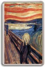 The Scream Edvard Munch Fridge Magnet