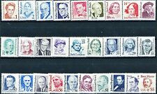 Complete Set 28 Great Americans Issue Scott's 2168 to 2196 MNH OG Ships FREE