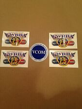 Lot Of (4) Gold Wing ** 1 VCOM Stickers