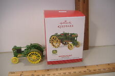 ~WATERLOO BOY~JOHN DEERE TRACTOR~2014 HALLMARK ORNAMENT~