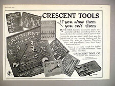 Crescent Tools PRINT AD - 1925 ~~ wrench