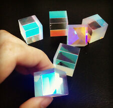 5 PC Defective Optical Galss RGB Prism X-CUBE for Physics Teach Decoration Art