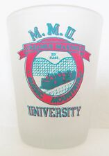 MAGIC MOUNTAIN UNIVERSITY  SCREAMUS MAXIMUS ROLLERCOASTER  SHORT SHOT GLASS