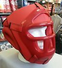 Boxing head guard Removable Face Protector kick martial arts mma training adult