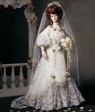 "NRFB Franklin Mint GIBSON GIRL BRIDE DOLL ANNIVERSARY HEIRLOOM 21"" NIB"