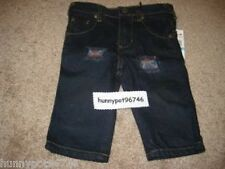 HURLEY BLUE DENIM JEANS PANTS BOYS 12 MONTHS *NWT