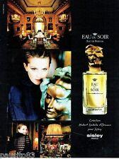 PUBLICITE ADVERTISING 106  1998  Sisley  eau Du Soir    eau de parfum