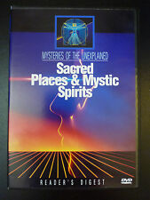 Mysteries of the Unexplained: Sacred Places & Mystic Spirits (DVD) *VERY RARE*