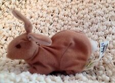 """Teletubbies 4"""" Brown Bunny Rabbit  Burger King Plush Toy Clip-On Finger Puppet"""