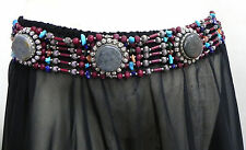Vintage Kuchi Tribal Ethnic Nepal Belt Belly dance Chic Fashion Jewelry Stone