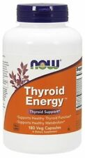 Thyroid Energy Now Foods 180 VCaps L-Tyrosine Guggul Ashwagandha Thyroid Support